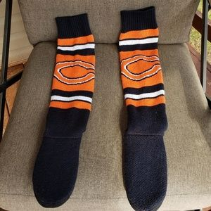 Shoes - Womens Chicago Bears Slip on Hard Sole Slippers.